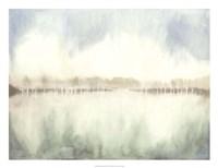 Mid Morning Mist I Framed Print