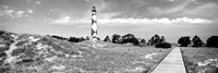 Cape Lookout Lighthouse, Outer Banks, North Carolina Fine Art Print