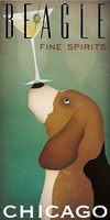 Beagle Martini Fine Art Print