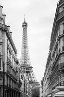 Eiffel Glimpse Framed Print