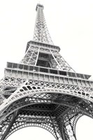 Eiffel up Close Framed Print