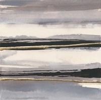 Gilded Grey II Framed Print