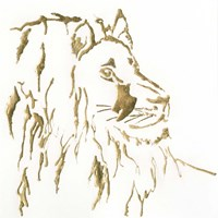 Gilded Lion Fine Art Print