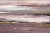 Gilded Storm I Framed Print