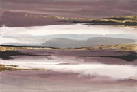 Gilded Storm II Framed Print