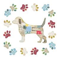 Good Dog IV Framed Print