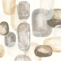 Neutral Stones I Framed Print
