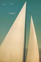 Sails I Framed Print