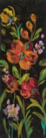 July Garden Trio I Framed Print