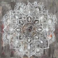 Mandala in Neutral II Fine Art Print