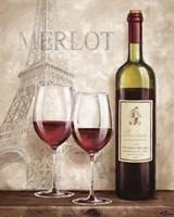 Wine in Paris III Framed Print