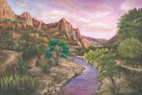 Zion at Sunset Fine Art Print