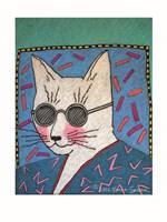Humanimals - Archie the Cat Fine Art Print