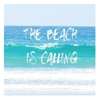 Beach Is Calling Fine Art Print