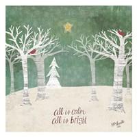 Christmas Trees Fine Art Print