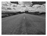 Monument Valley Road Fine Art Print