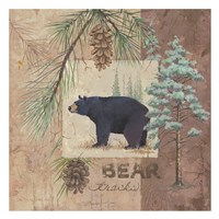 Bear Tracks Fine Art Print