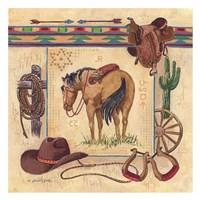 Western I Framed Print
