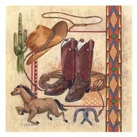 Western II Framed Print