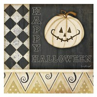 Happy Halloween Pumpkin Fine Art Print
