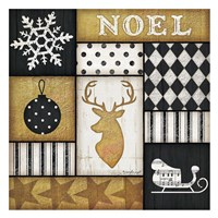 Noel Deer Fine Art Print