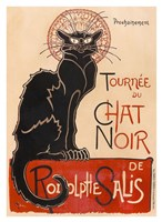 Chat Noir Fine Art Print
