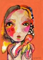 Clingy Shoulder Fine Art Print