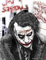 Joker Fine Art Print