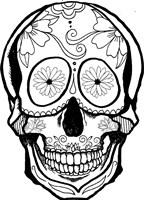 Skull 6 Fine Art Print