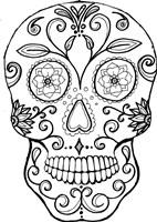 Skull 7 Fine Art Print