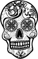 Sugar Skull Fine Art Print