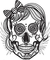Skull 15 Fine Art Print