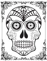 Skull 16 Fine Art Print