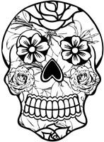 Sugar Skull 8 Fine Art Print