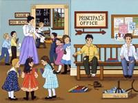 The Principal's Office Fine Art Print