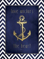 Anchor & Gold Fine Art Print