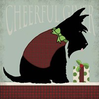 Scottie Cheerful Giver Fine Art Print