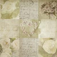 Vintage Floral Fine Art Print