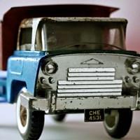 Blue Truck Fine Art Print
