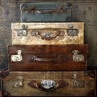 Suitcases Fine Art Print