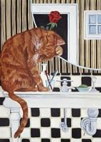 Washing Up Fine Art Print