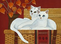 Smudge And Ellie Fine Art Print