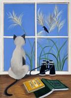 The Birdwatcher Fine Art Print