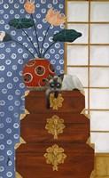 Jasmine On Oriental Wedding Chests Fine Art Print
