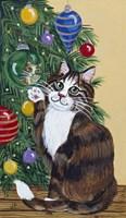 Rudolpha Awaiting An Ornament Fine Art Print