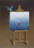European Kingfisher Fine Art Print