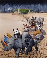 Save Our Environment Fine Art Print