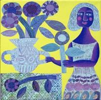 Flower Vase Fine Art Print