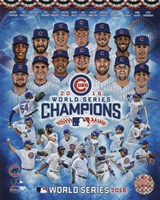 Chicago Cubs 2016 World Series Champions Composite Framed Print