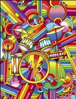 Pop Art Drums Fine Art Print